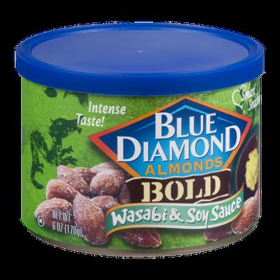 Blue Diamond Almonds Bold Wasabi & Soy Sauce