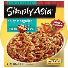 Simple Asia Noodle Bowl