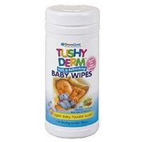 Tushy Derm-Baby Wipes DreamQuest Nutraceuticals 40 Wipes