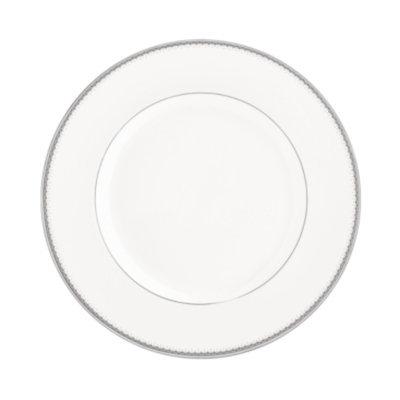 Monique Lhuillier Waterford Dinnerware, Dentelle Dinner Plate 10.5