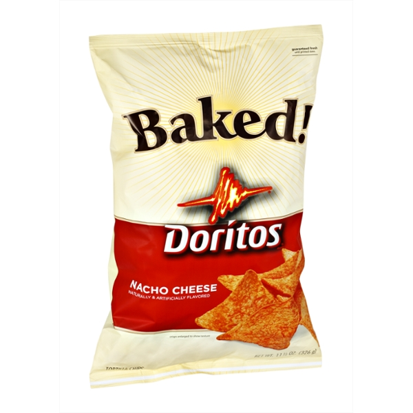 Doritos® Baked!  Nacho Cheese Tortilla Chips