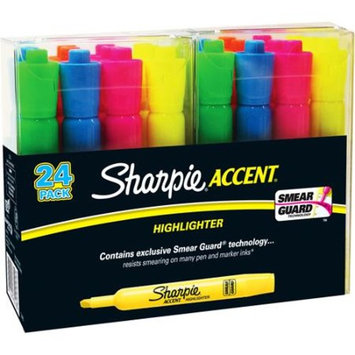 Sharpie Highlighter Tank Assorted Color, 24 Count