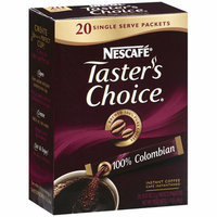 Placeholder Taster's Choice 100% Colombian Instant Coffee Single Serve Packets
