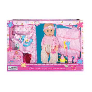 DOLLAR GENERAL Emma & Her Doll Carrier - Caucasian