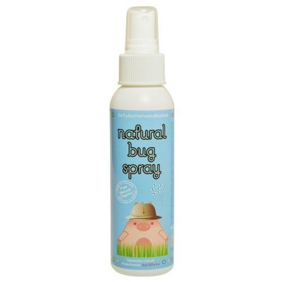 Belly Buttons and Babies Organic Natural Bug Spray, 4 Ounce