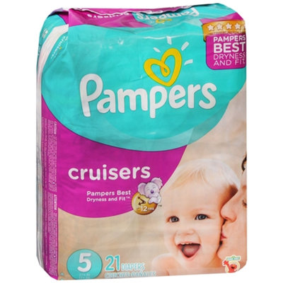 Pampers Cruisers Diapers Size 5 Jumbo Pack