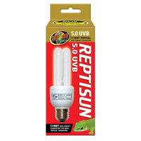 Zoo Med ZOO MEDTM REPTISUNTM 5.0 UVB Tropical Compact Fluorescent Bulb