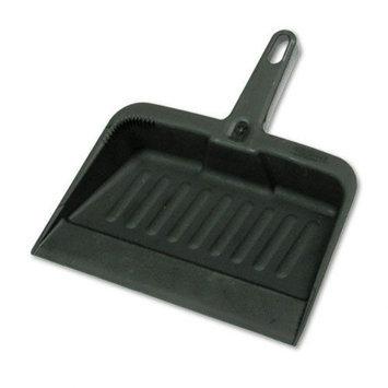 Rubbermaid Heavy-Duty Dustpan, 8-1/4 Wide, Polypropylene, Charcoal