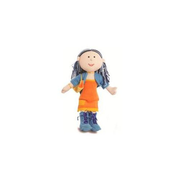 Anatina Toys Plush Fashion Posh Doll - Handmade and Eco-Friendly