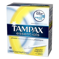 Tampax Essentials Tampons with Plastic Applicator