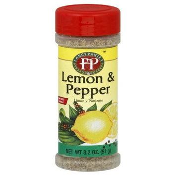 Fancy Pantry Seasoning Lemon & Pepper, 3.2-Ounce (Pack of 12)