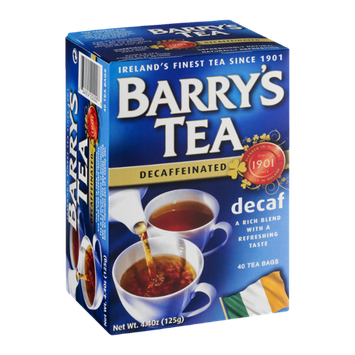 Barry's Tea Bags Decaffeinated - 40 CT