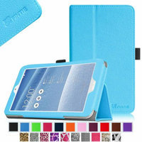 Fintie Folio Leather Case Cover With Auto Wake / Sleep Feature for ASUS MeMO Pad 8 ME181C Tablet, Blue