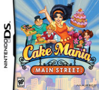 Majesco Cake Mania: Main Street