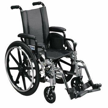 Drive Medical Viper Wheelchair in Black