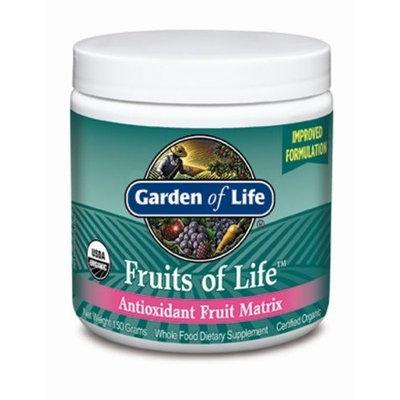 Garden of Life Antioxidant Fruit Matrix, Fruits of Life, 150 g