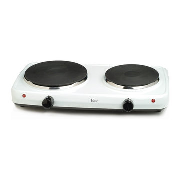 Maxi-Matic Elite Cuisine Double Flat Burner Hot Plate