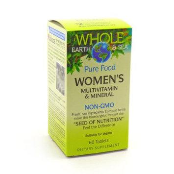 Whole Earth & Sea Women's Multivitamin & Mineral Natural Factors 60 Tabs