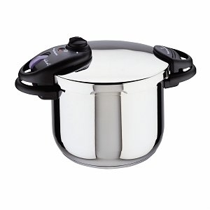 Magefesa Ideal Stainless Steel Super Fast Pressure Cooker 6 Qt.
