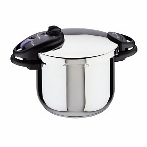 Magefesa Ideal Stainless Steel Super Fast Pressure Cooker 6 Qt.
