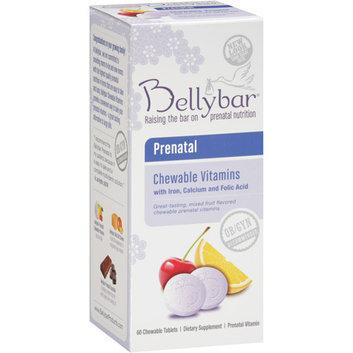Bellybar Prenatal Chewable Vitamins with Iron Calcium and Folic Acid