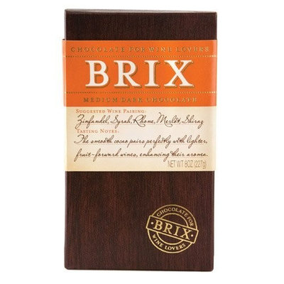Homeandwine.com Brix Medium Dark Chocolate For Wine Lovers