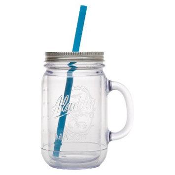 aladdin Aladdin Double-Walled Plastic Mason Jar - Blue (20 oz)