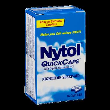 Nytol QuickCaps Nighttime Sleep-Aid Caplets - 16 CT