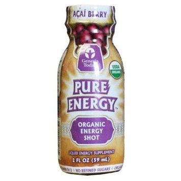 Genesis Today Inc Genesis Today, Organic Acai Pure Energy Shot 2 oz