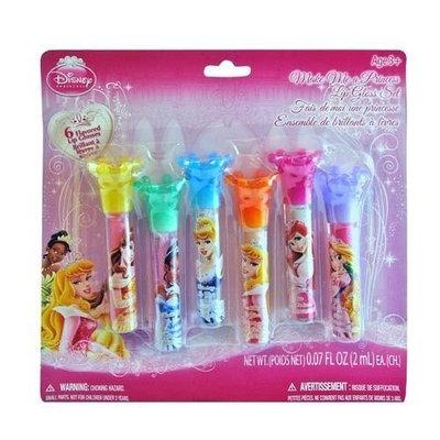 Disney Princess Make Me a Princess Lip Gloss Set 6 Flavored Lip Glosses