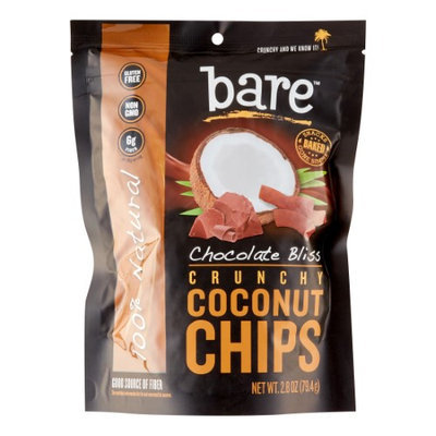 Bare Fruit COCONUT CHIPS, CHOCO BLISS, (Pack of 12)