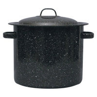GraniteWare Stock Pot - 15.5 Quart (Black)