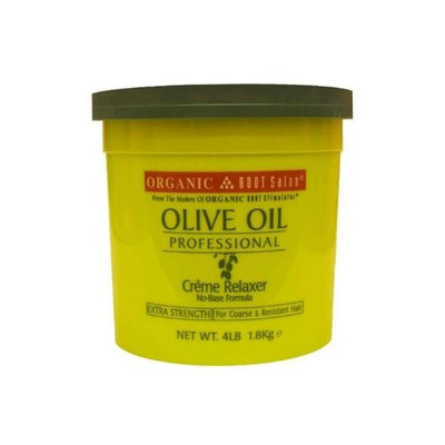 Organic Root Stimulator Olive Oil Professional Creme Relaxer, Extra Strength, 64 Ounce