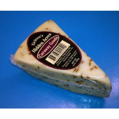 Eichtens Cheese Caraway Gouda Cheese (1 lb with Free Shipping)