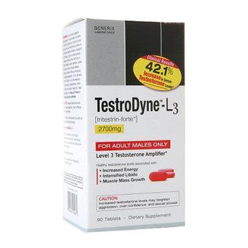 Generix Labs Testrodyne Testosterone Amplifier, Tablets, 60 ea