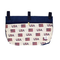 Handi-pockets Handi Pockets 2c6us Storage Accessory Walker, Tapestry, USA with Zipper