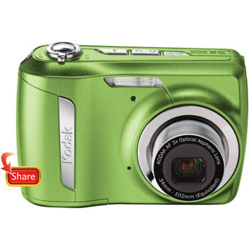Kodak Easyshare C142 Green 10MP Digital Camera w/ 3x Optical Zoom, 2.5