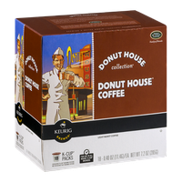 Donut House Collection Keurig Brewed Donut House Coffee Light Roast K-Cup Packs - 18 CT