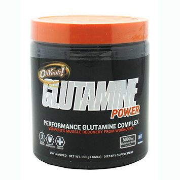 ISS Oh Yeah Glutamine Power Unflavored - 300 Grams