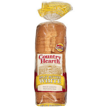 Country Health Split Butter White Bread, 24 oz