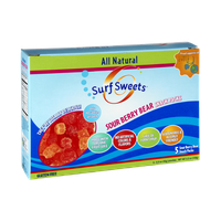 Surf Sweets Gluten Free Sour Berry Bear Snack Packs - 5 CT