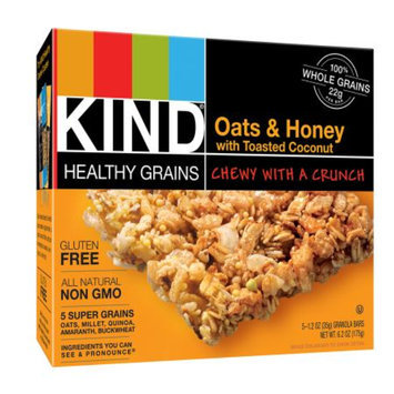 KIND Healthy Snacks KIND Oats & Honey Granola Bar 6.2 oz 5 ct