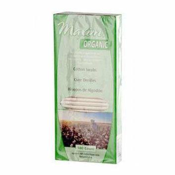 Maxim Hygiene Products Maxim Hygiene Organic Cotton Swabs 180 Swabs
