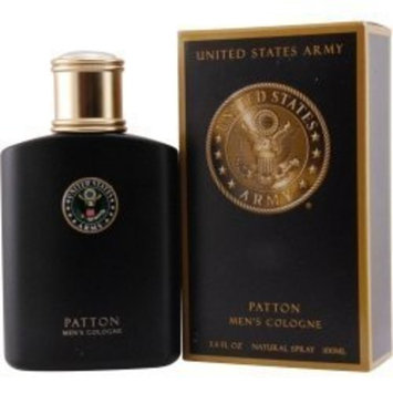 Parfumologie Us Army Patton Cologne Spray for Men, 3.4 Ounce