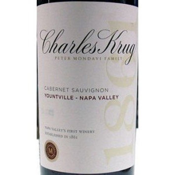 CHARLES KRUG WINERY PETER MONDAVI FAMILY Charles Krug Cabernet Sauvignon 2010 750ML