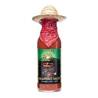 Pepper Creek Farms 5A Jalapeno Salsa With Sombrero - Pack of 12