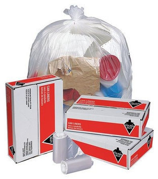 TOUGH GUY 49P434 Trash Bags,56 gal,15 micron, PK200