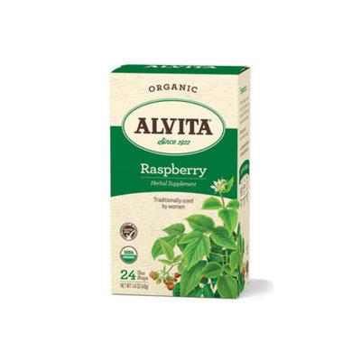 Alvita Tea Bag - Organic, Red Raspberry Leaf, 24 ea