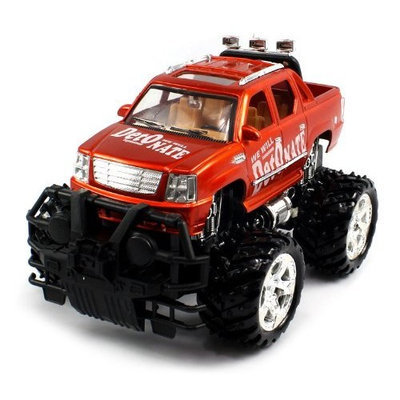 566 25F O BIG SIZE RECHARGEABLE Electric Full Function 1:16 Conqueror Cadillac Escalade EXT RTR RC Truck Remote Control (Colors May vary)