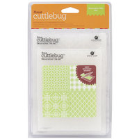 Provo Craft Cuttlebug Embossing Folders, Decorative Tile Set